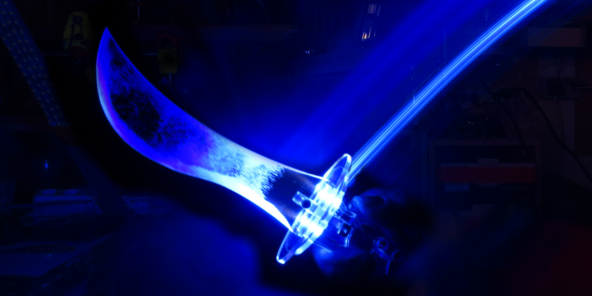 Spectral Dagger with light tail