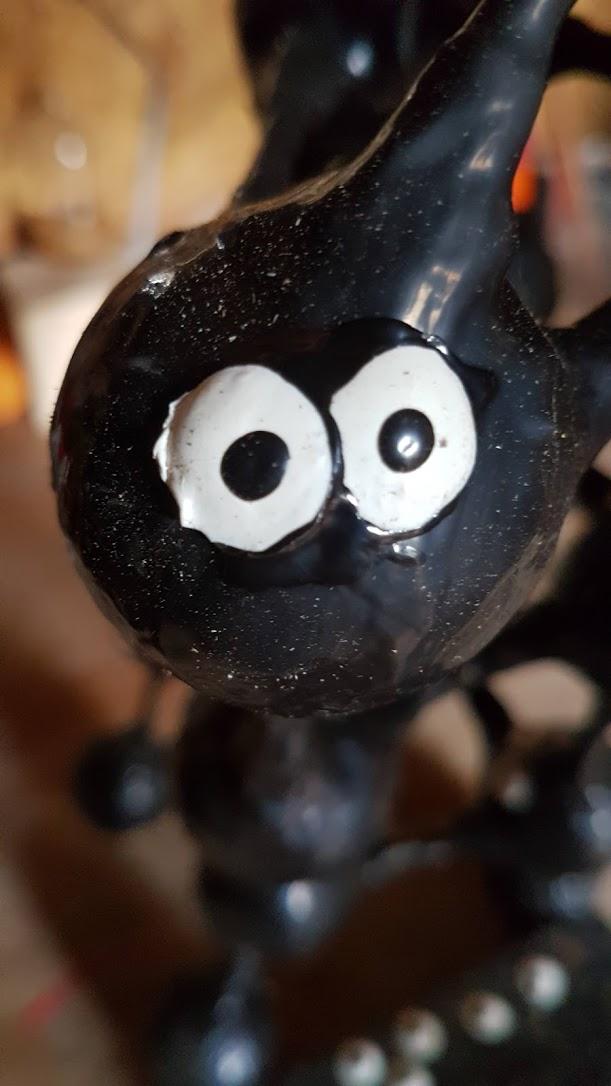 a goo ball staring at the camera