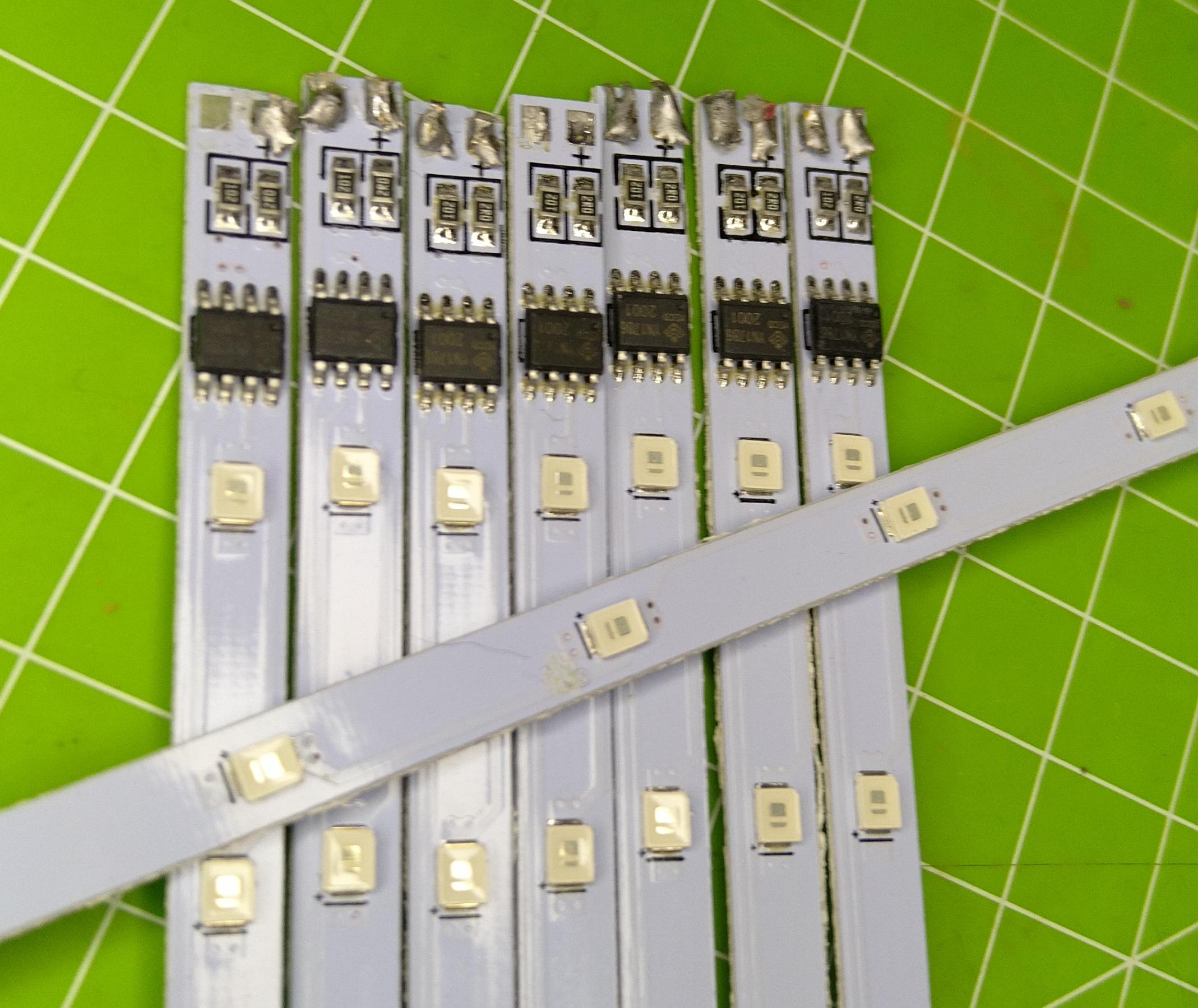 meteor lights - LED elements